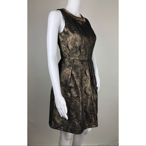 Romeo & Juliet Couture Dresses - Romeo + Juliet Metallic Cocktail Dress Size S
